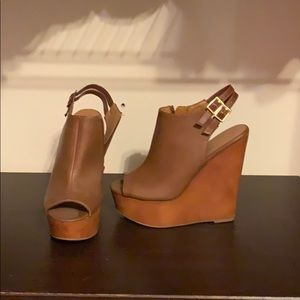 Wedge heels from Charlotte Russe